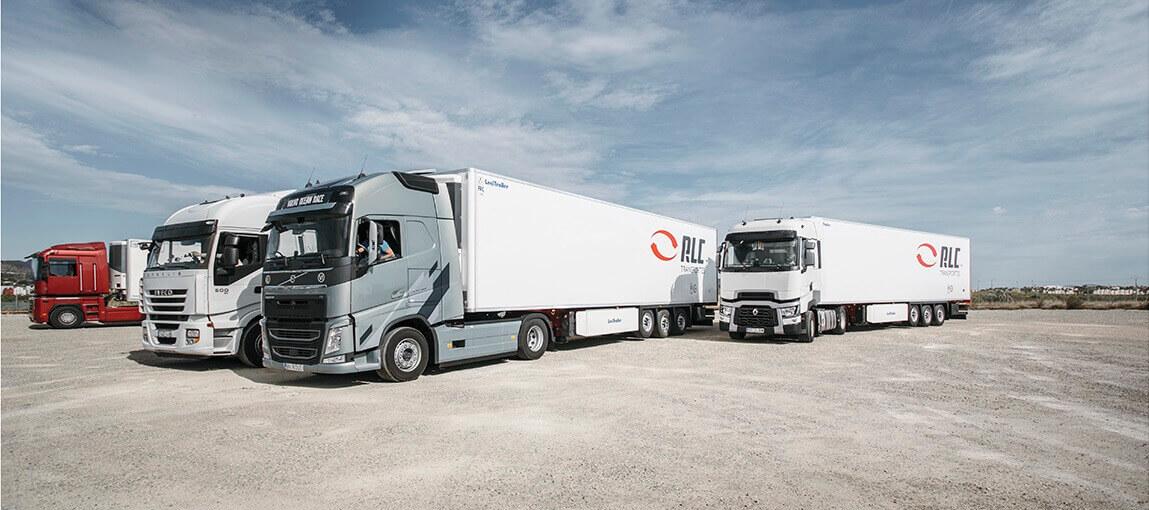 Transporte de mercancías internacional de España a Italia