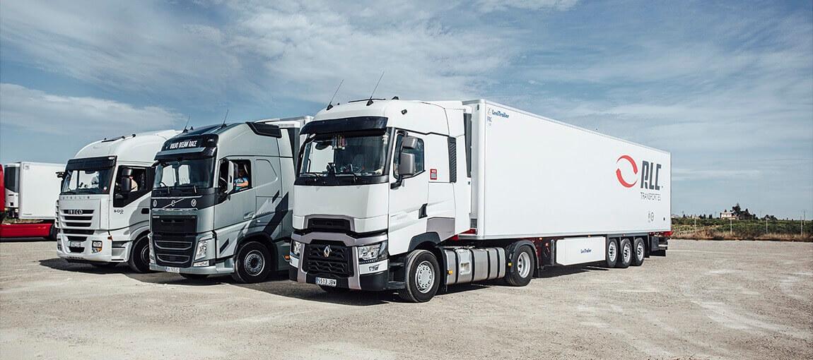 transporte refrigerado internacional